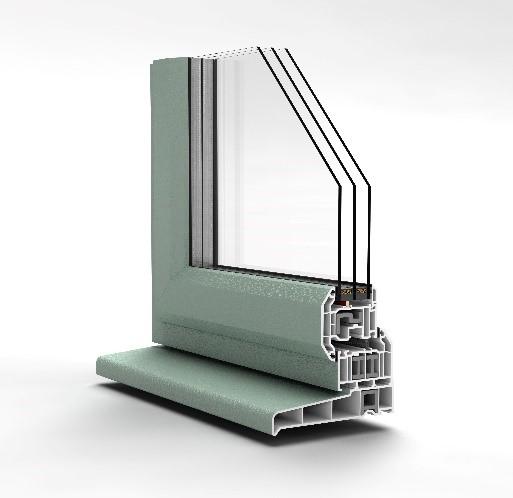 uPVC Windows - Chamfered Casement