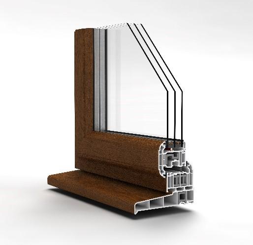 uPVC Windows - Sculptured Casement
