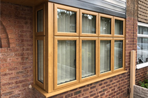 Bay Window Burntwood Uniseal