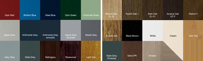 Composite Doors - Colours