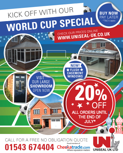 World Cup Special – OFFER ENDED