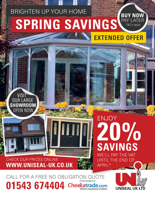 Extended Offer – Spring Savings
